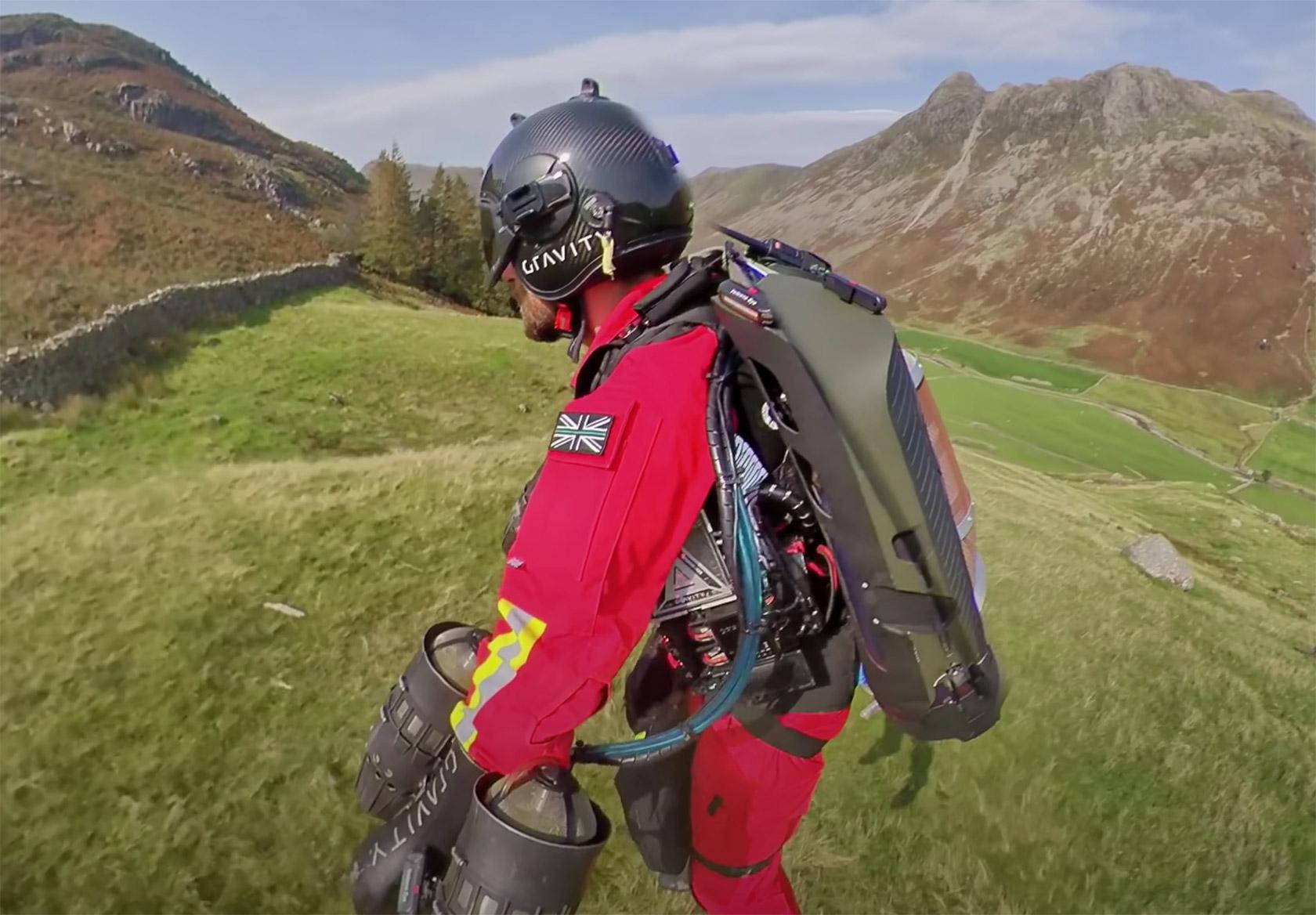 Rocket Man Richard Browning Jetpack Paramedic
