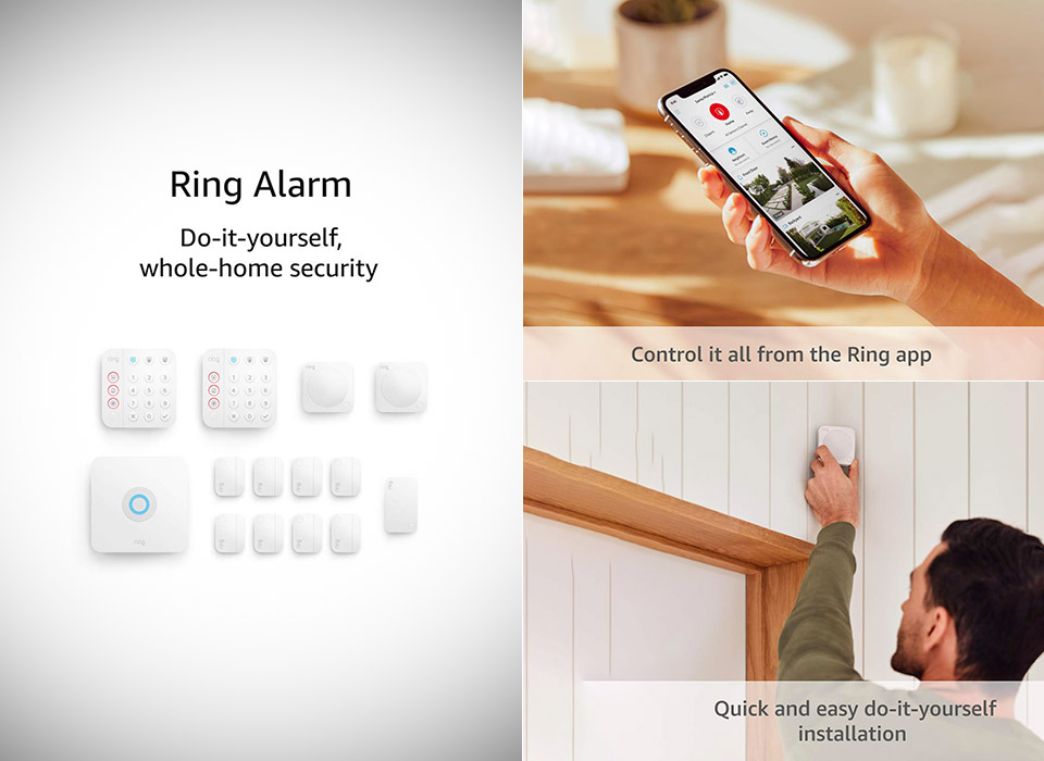 Ring alarm 2nd Gen Home Security System