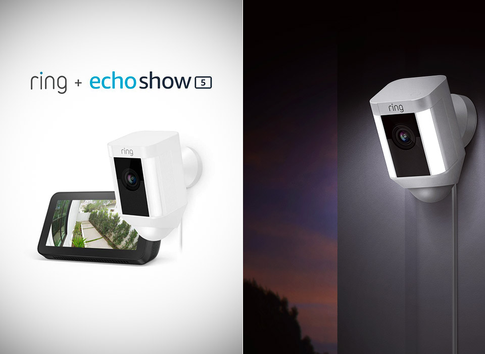 Ring Spotlight Cam Echo Show 5