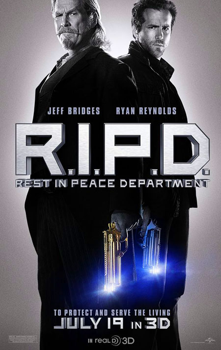 R.I.P.D. (Rest in Peace Department ) Features Undead ...