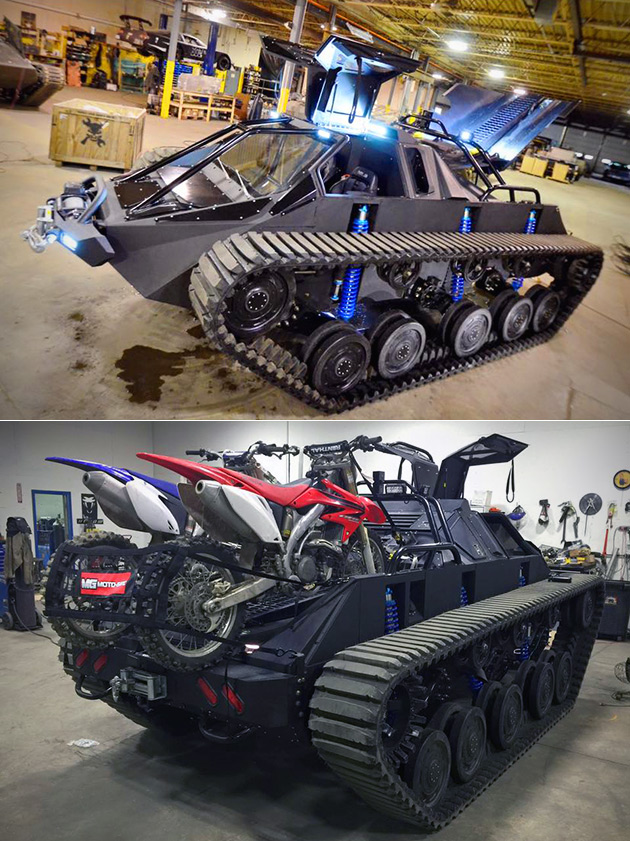 Ripsaw Ev2 Luxury Tank With Pick Up Body Unveiled Perfect