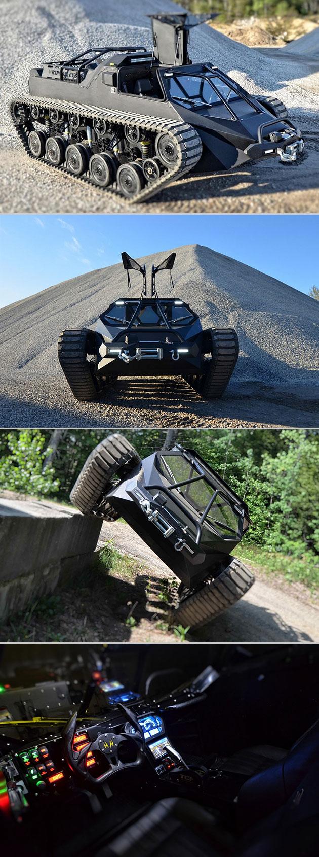 Ripsaw EV2 Tank