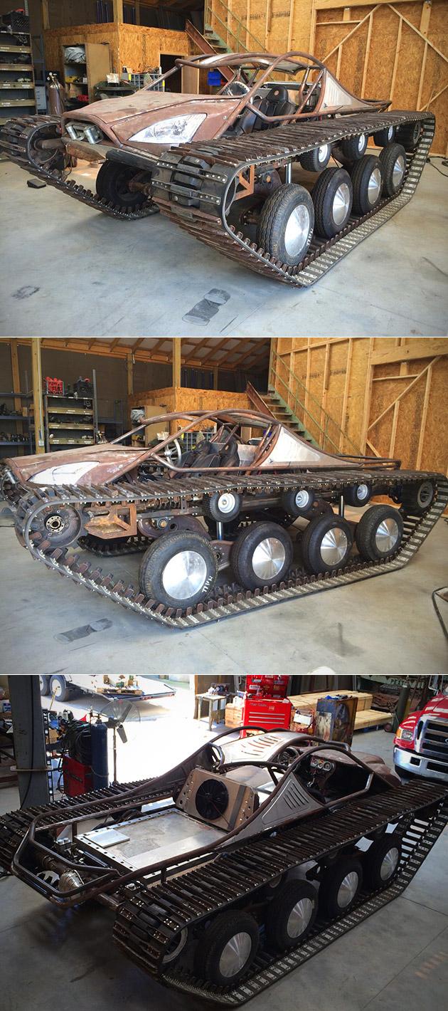 Ripsaw Tank Hudlow Custom