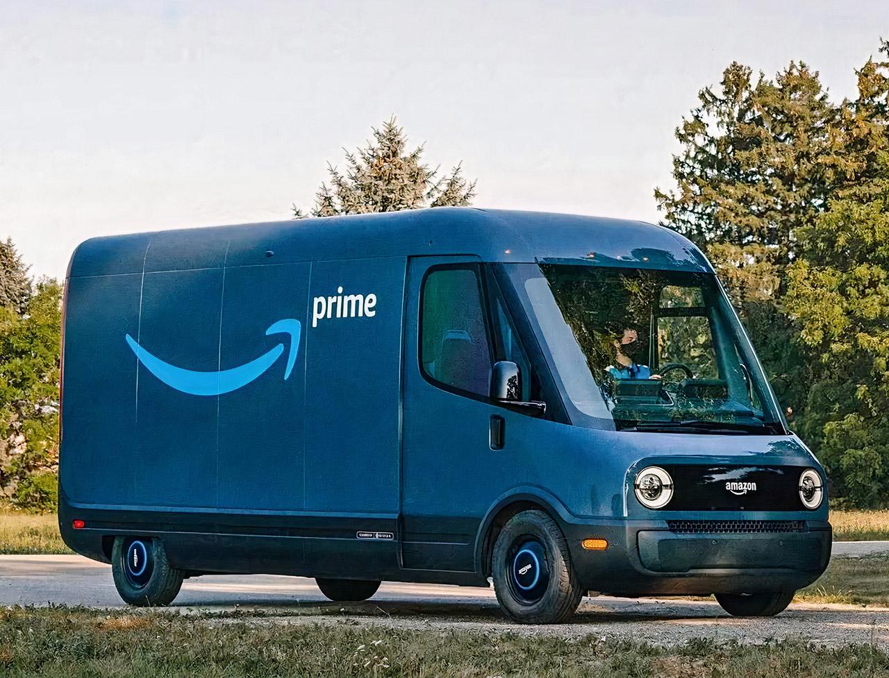Rivian Amazon Electric Delivery Van