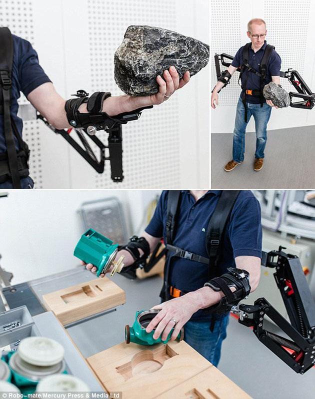 Robo-Mate Exoskeleton