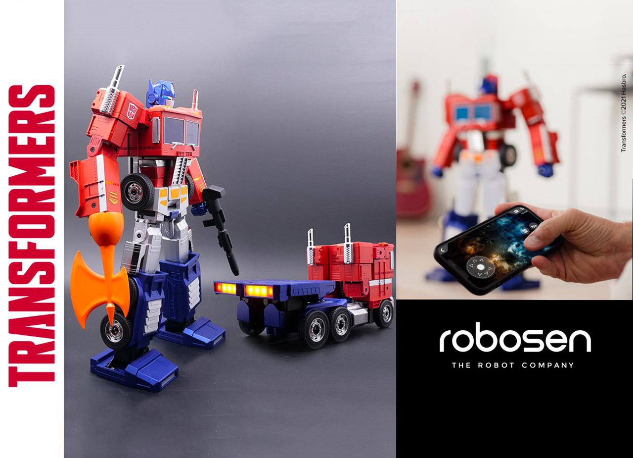 Robosen Robotics Hasbro Optimus Prime Robot