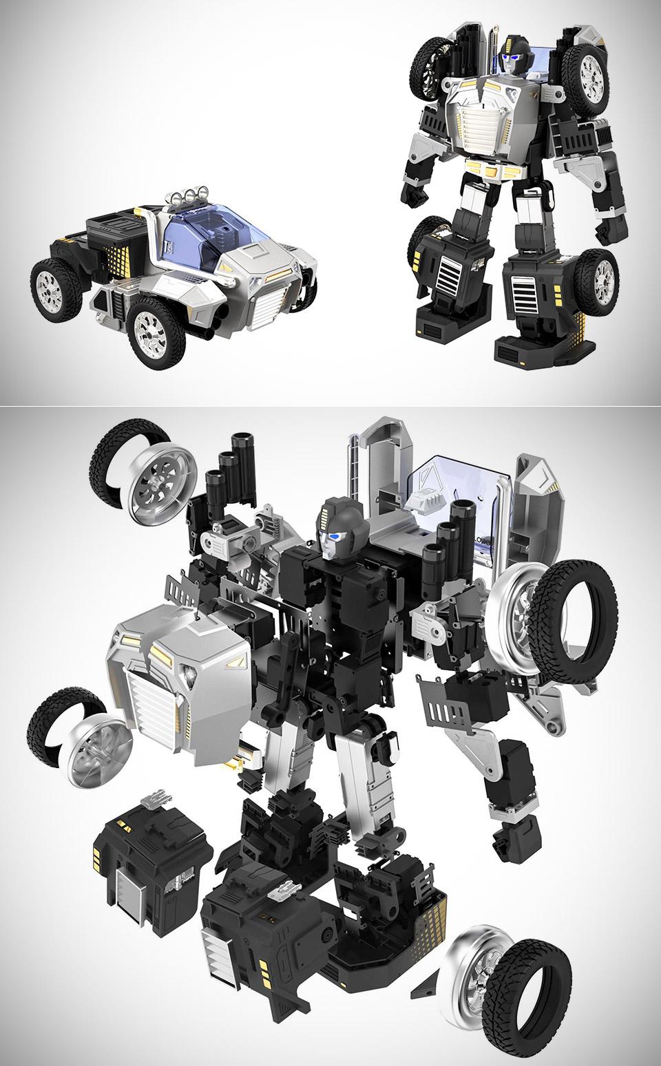 Robosen T9 Transformers Toy