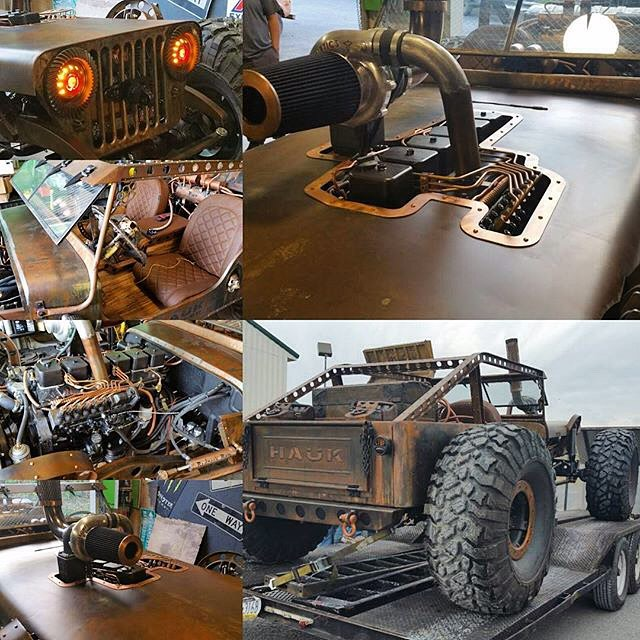When Mad Max Meets Hot Rod And Off Road Vehicle You Get