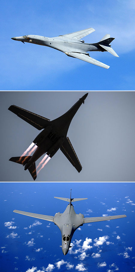 A Fascinating Look at the B1-B Lancer, a Supersonic Bomber ... B1 Lancer Supersonic