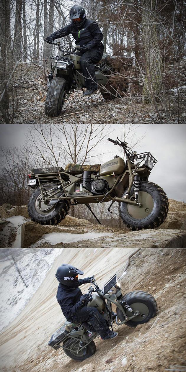 Rokon Trail-Breaker Bike