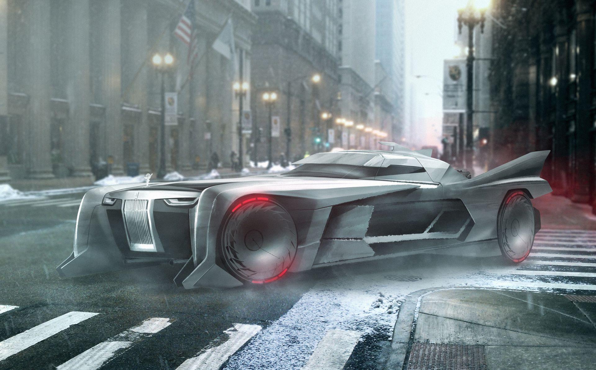 Rolls-Royce Batmobile Concepts