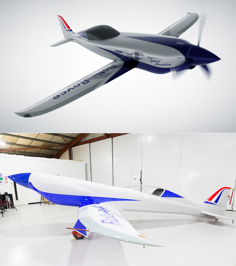 Rolls-Royce Electric Plane