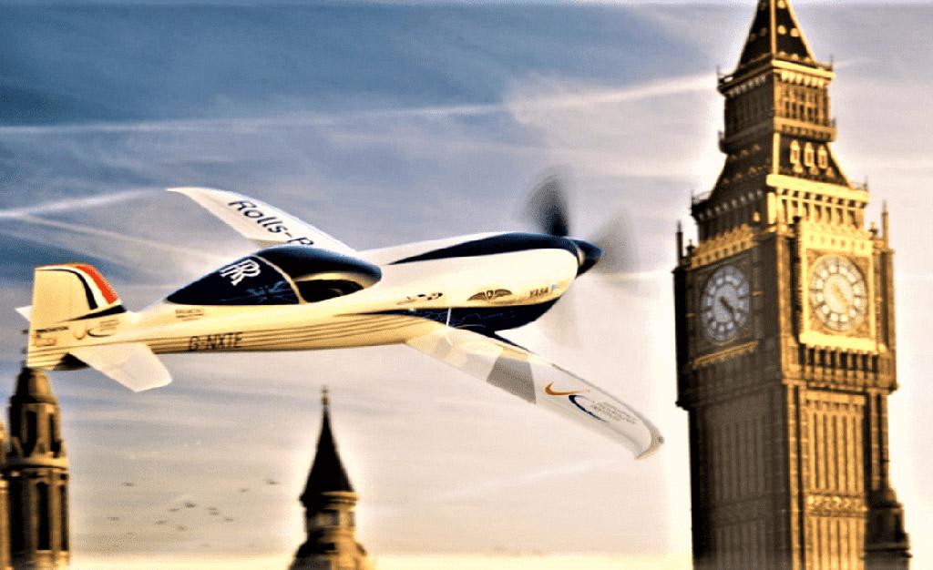 Rolls-Royce ionBird Fastest Electric Plane