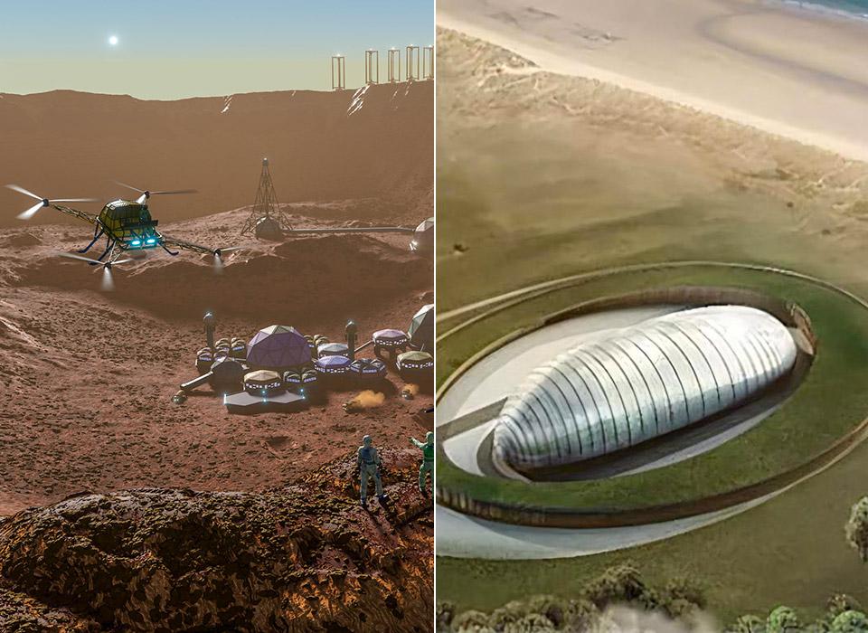 Rolls-Royce Nuclear Reactor Mining Moon Mars