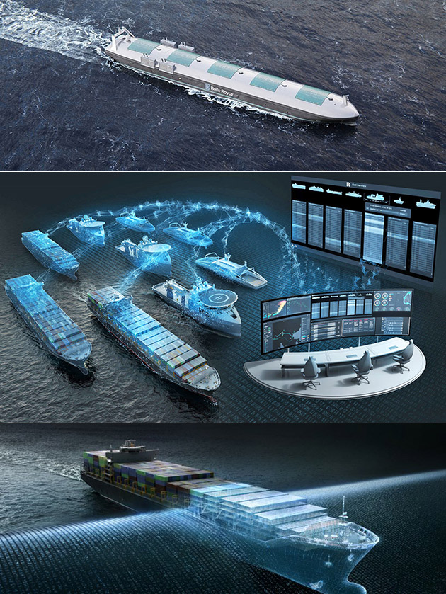 Rolls-Royce Intel Autonomous Ship