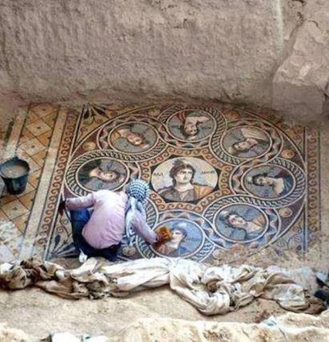 Roman Mosaics Turkey