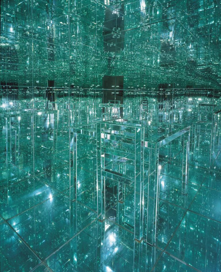 Room Made Entirely from Mirrors