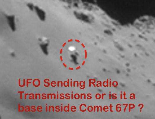 Rosetta Comet Alien