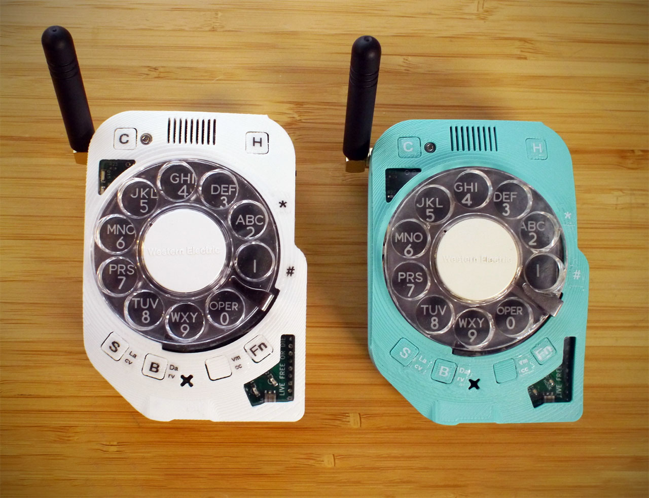Rotary 4G Cell Phone