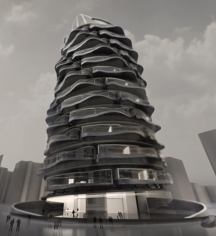 Imagine a Residential Building