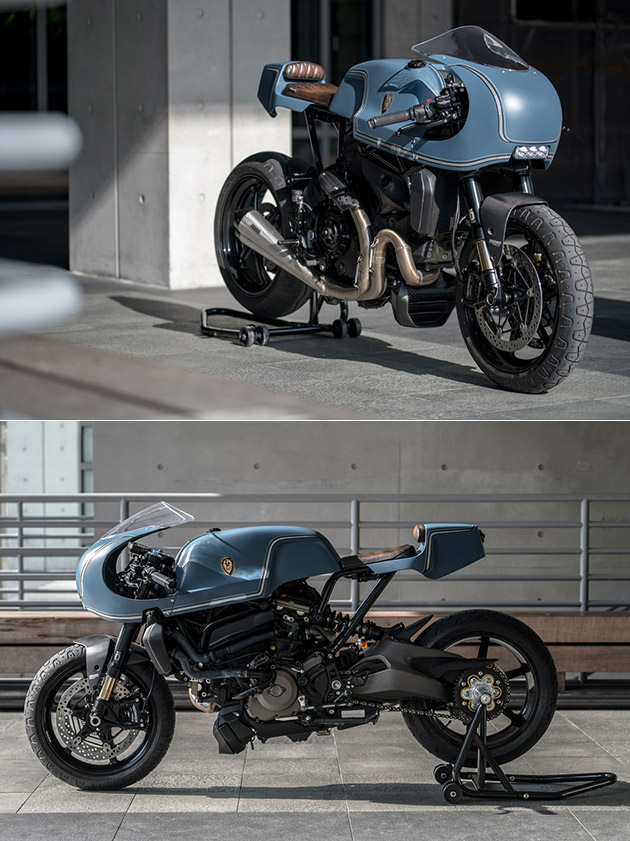 Rough Crafts Indigo Flyer Ducati Monster