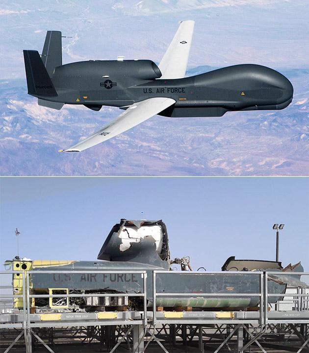 RQ4 UAV Drone