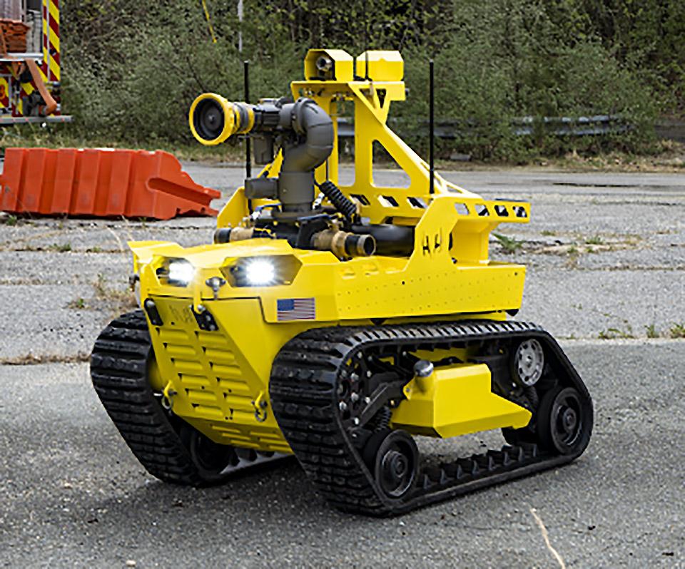 RS3 Robotic Firefighting Vehicle