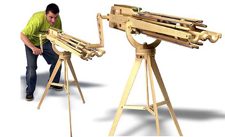 Fotos automatic rubber band gun plans - Fotos Bb Gatling Gun Plans