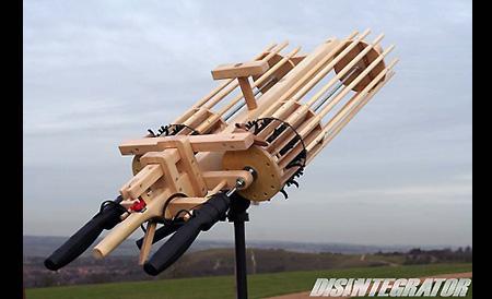 Feature Gatling Rubber Band Guns Made From Wood Techeblog