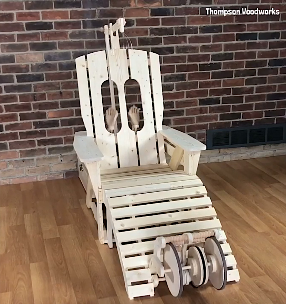 Rube Goldberg Chair