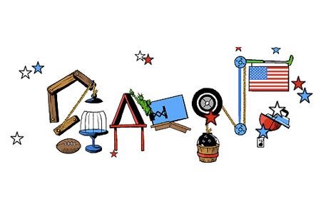 Rube Goldberg Fireworks Machine Turned Google Doodle - TechEBlog