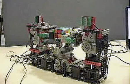 Feature: Student Builds Rubik's Cube Solving Robot from LEGO ...