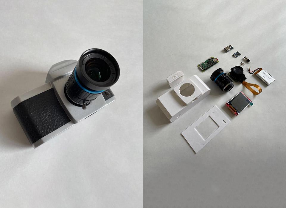 RUHAcam Raspberry Pi 3D Printed Camera