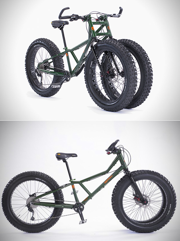 Rungu Triple Fat Tire Bike