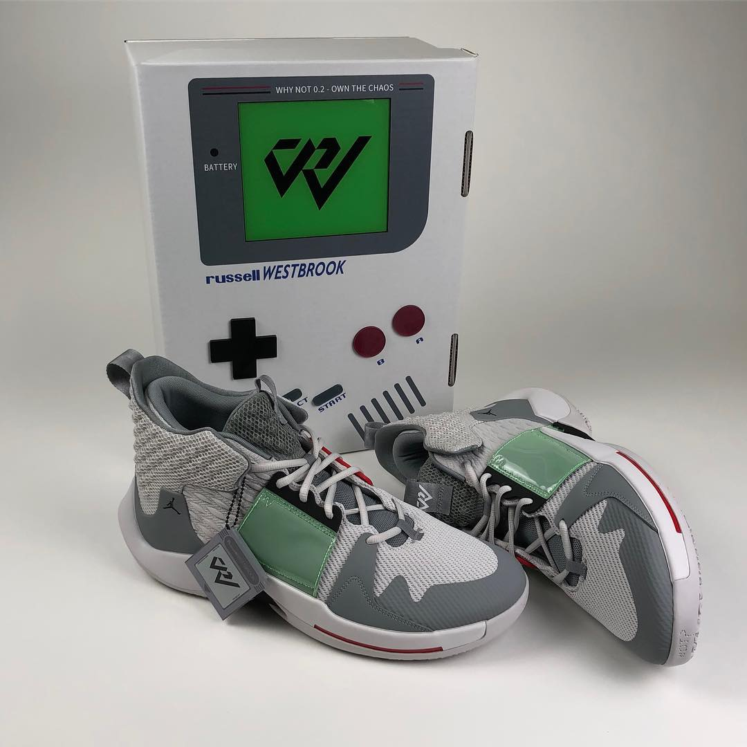 Russell Westbrook Game Boy Air Jordan