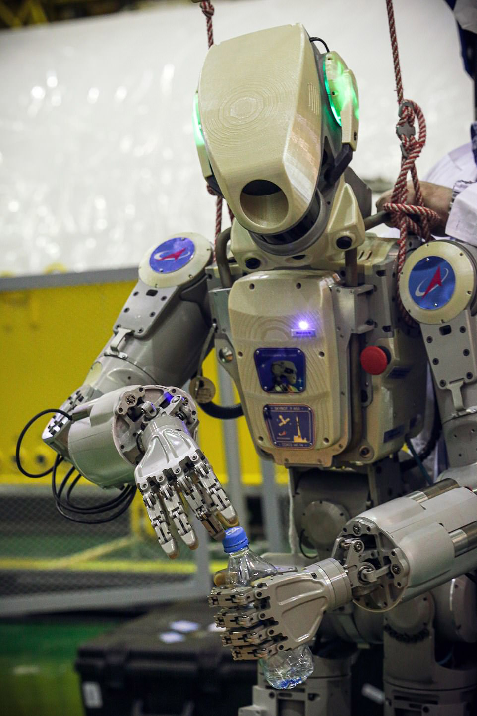 Russia Fedor Space Robot