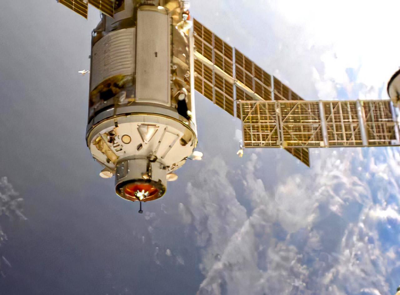 Russia Nauka Dock International Space Station NASA