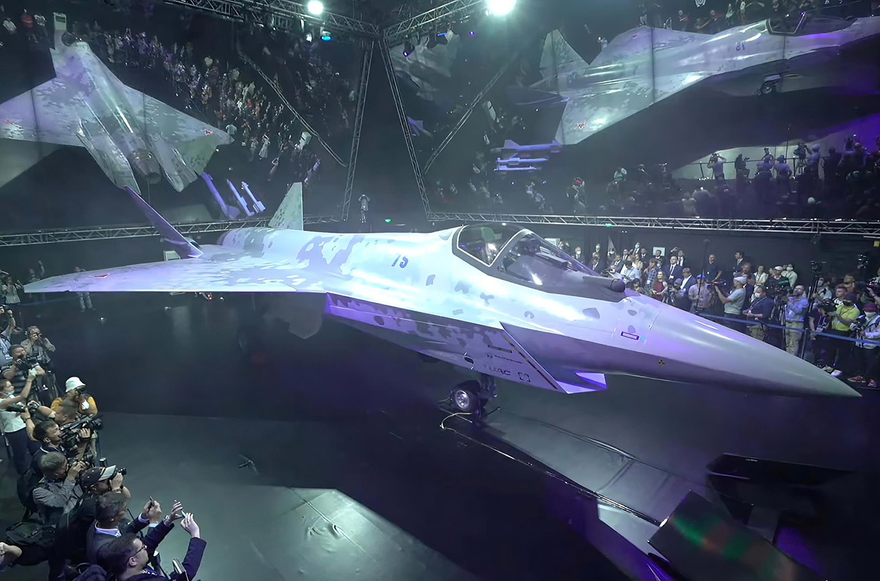 Russia SUKHOI Lightweight Fighter Jet