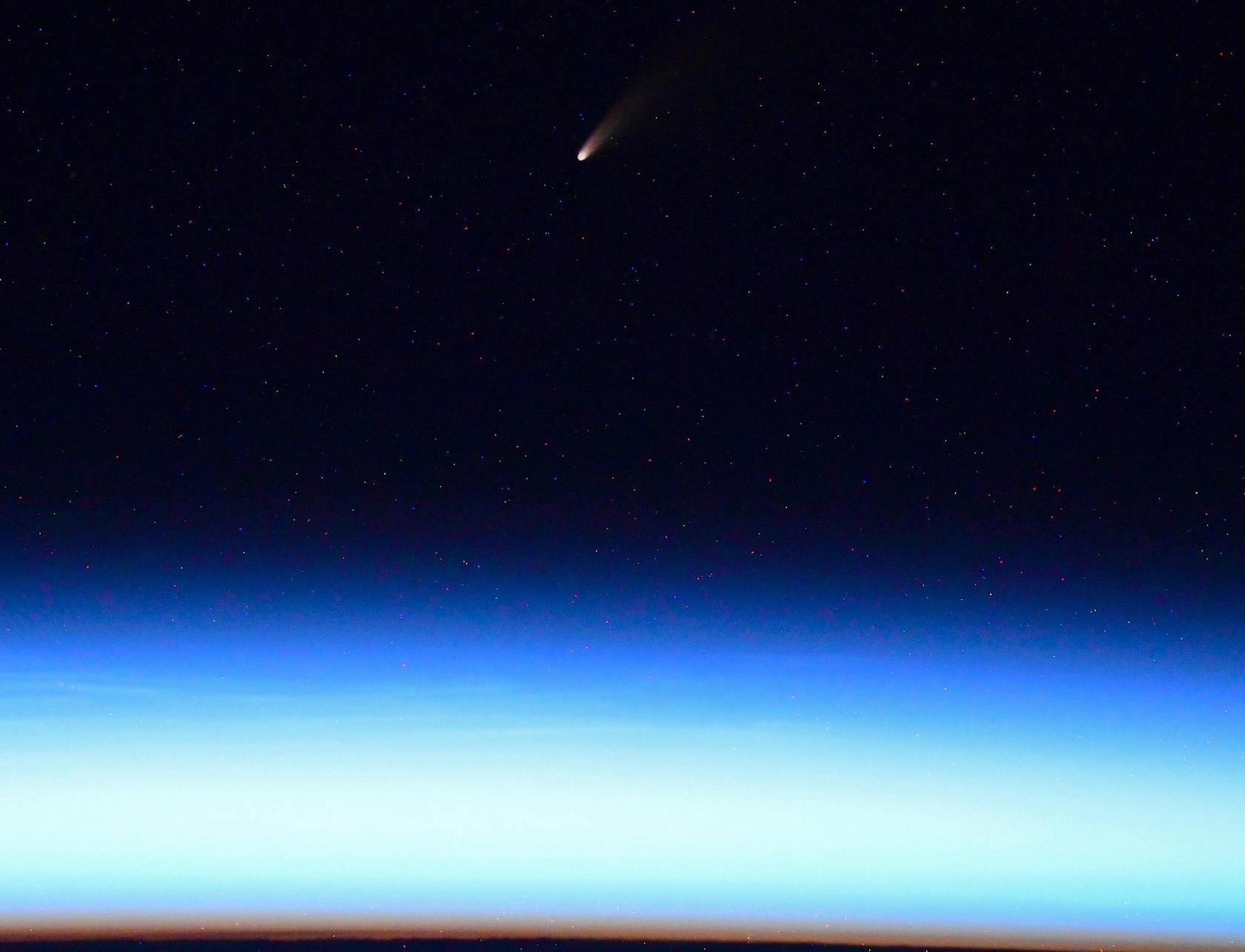 Russian Cosmonaut Ivan Vagnet Comet