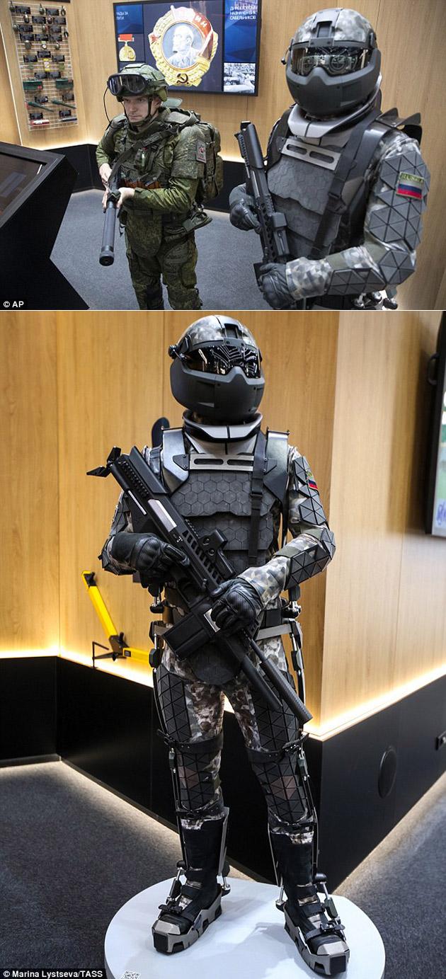 Russian Exoskeleton