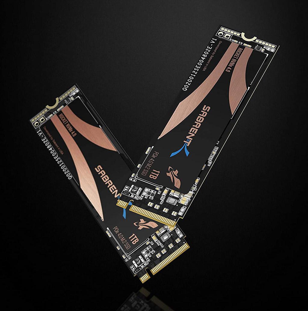 Sabrent 1TB Rocket NVMe M2 SSD
