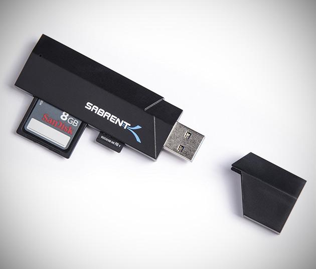 Sabrent SuperSpeed Memory Card Reader