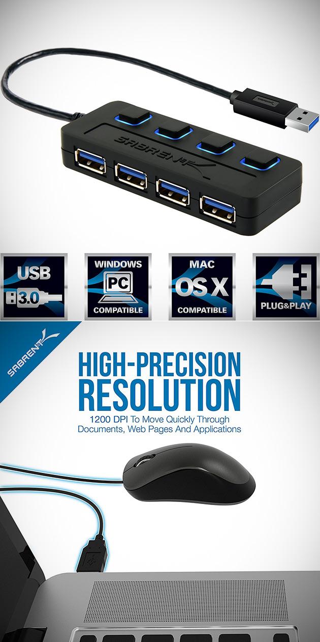Sabrent USB Hub