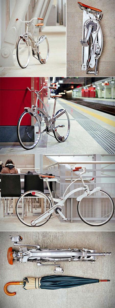 SADA διπλώνει το ποδήλατο