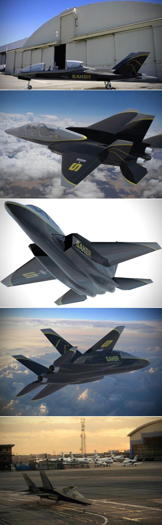 Saker S-1 Fighter Jet Real