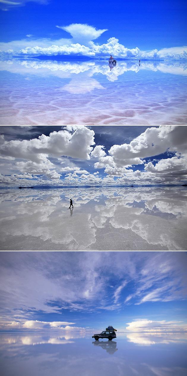Mirror Salt Flat