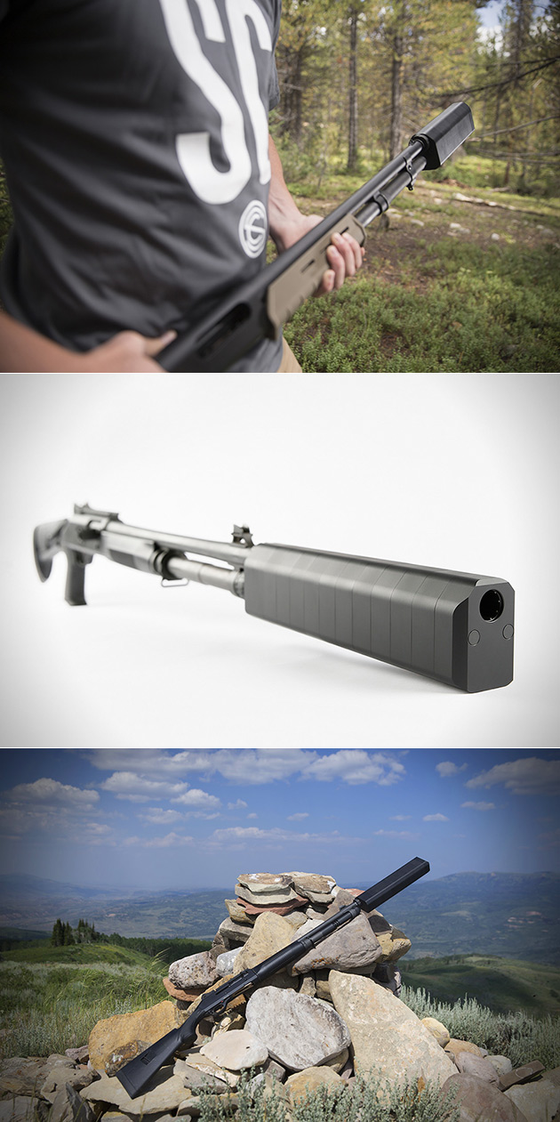 Salvo-12 Shotgun Silencer