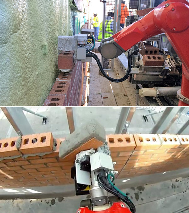 SAM Bricklaying Robot