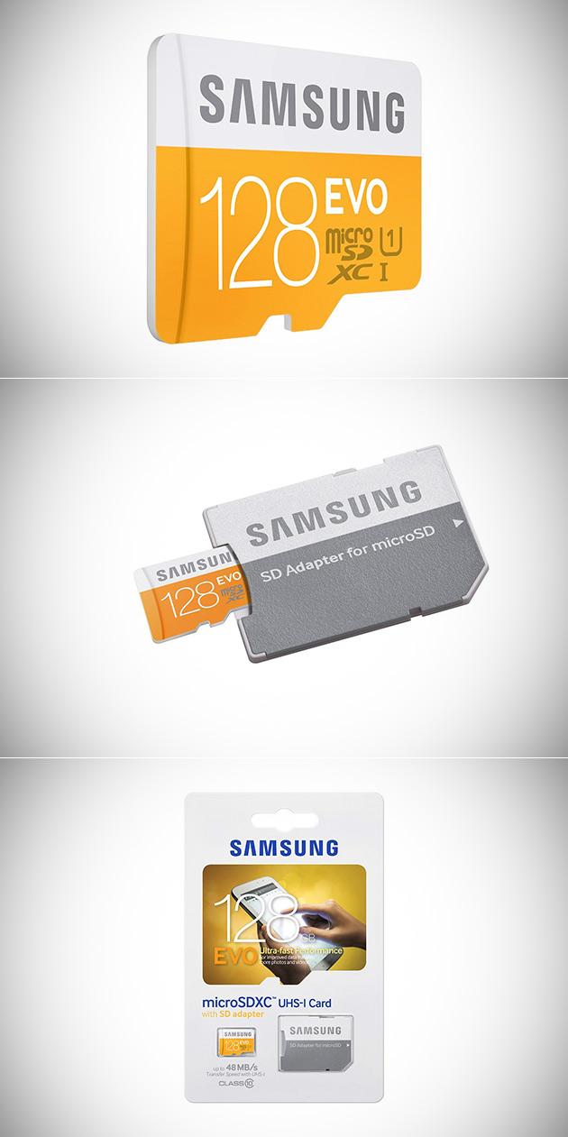 Samsung 128GB EVO microSDXC