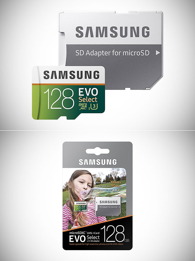 Samsung 128GB EVO Select MicroSD